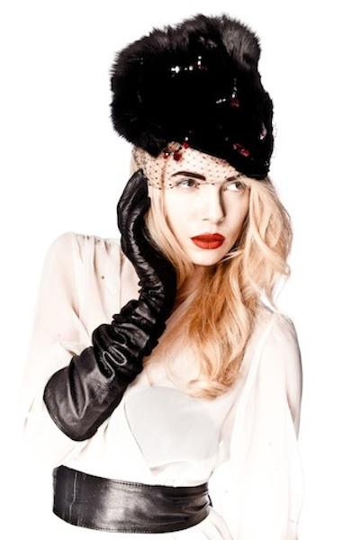 HEIDI - double fox face hat